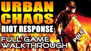 PS2 Longplay [022] Urban Chaos: Riot Response - Full Game Walkthrough