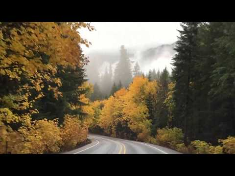 Oregon Trip Fall 2017: Driving from Bend to Eugene Fall Foliage