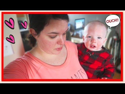 Baby Falls Out of Crib!! | VLOGMAS Day 20