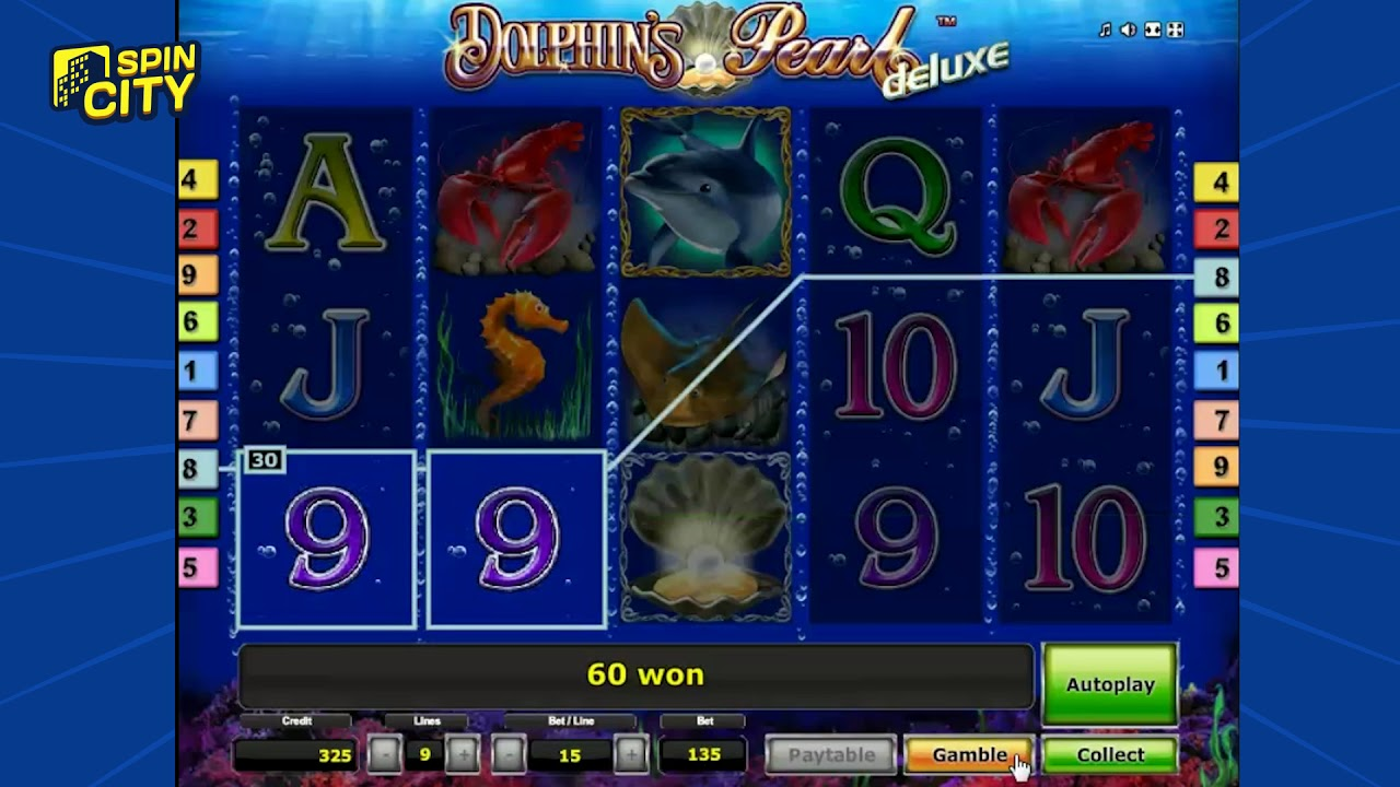 Игровой автомат Dolphin`s Pearl Deluxe