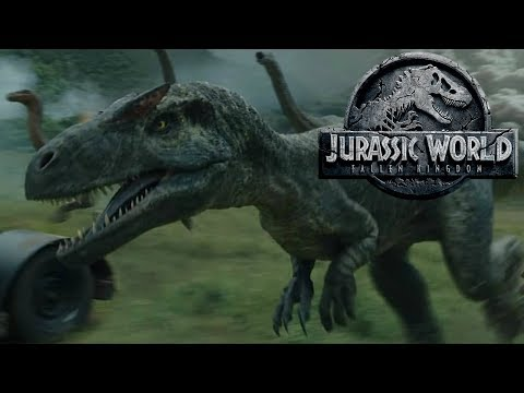 The History of the Allosaurus in the Jurassic Park Franchise