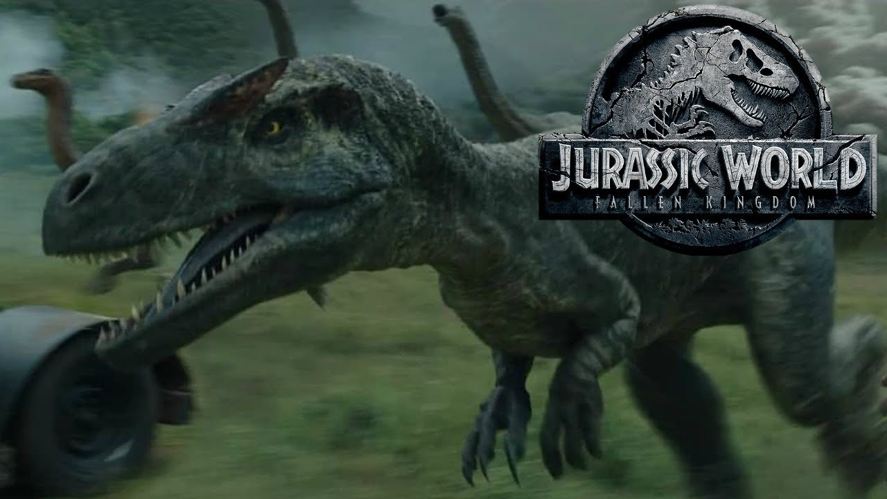 The History of the Allosaurus in the Jurassic Park ...