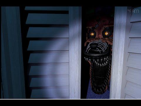 DAMNIT FOXY   Five Nights at Freddy's 4 Night 3 Part 2