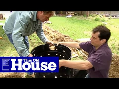 How to Install a Dry Well - This Old House