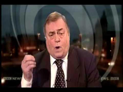 Prescott loses it on  newsnight