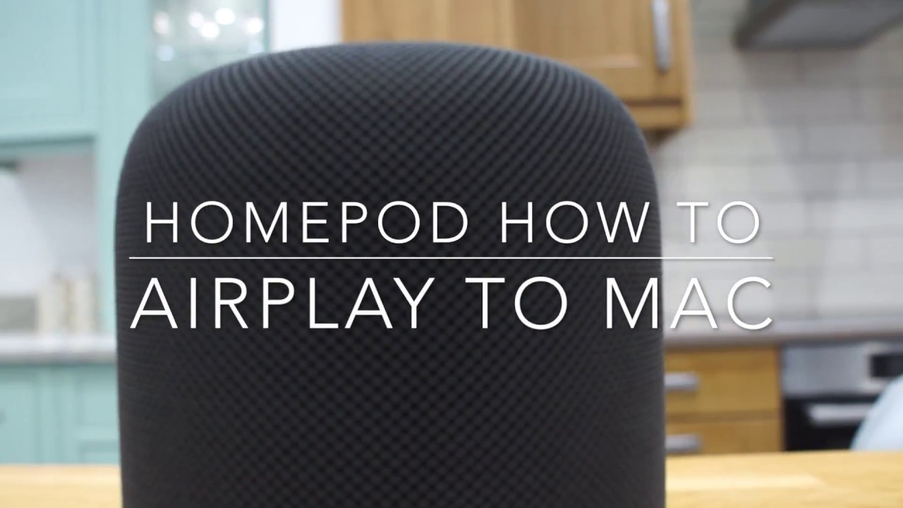 how to get airplay on mac