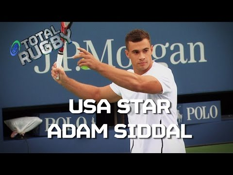 RUGBY v TENNIS: USA's Adam Siddal at the US Open