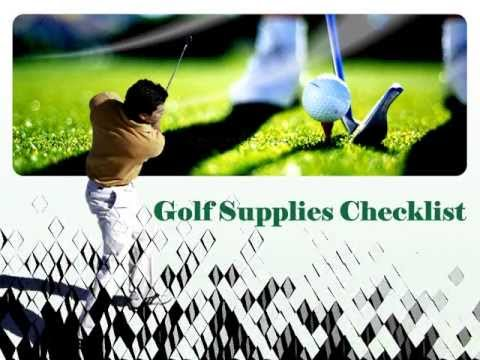 Different Types Of Golf Supplies