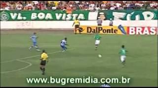 Melhores Momentos GUARANI 2 X 0 AVAI - 2005 | Bugremídia