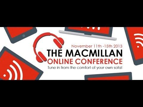Macmillan Online Conference 2013: Professional development session