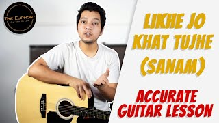 Likhe Jo Khat Tujhe   Sanam   Guitar Lesson