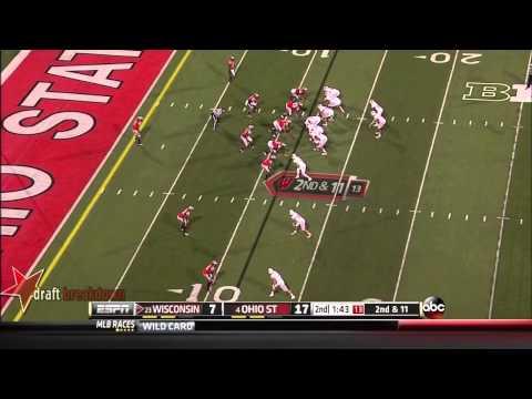 #4 Jared Abbrederis, WR, Wisconsin Vs Ohio St '13