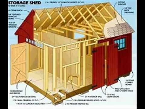 Storage Shed Plans Over 12 000 Shed Plans Youtube