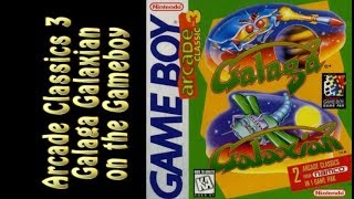 Arcade Classics 3 Galaga and Galaxian on the Gameboy