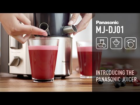 Panasonic Juicer - MJ-DJ01 Doovi