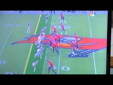 Antonio Brown's First Catch As A Tampa Bay Buccaneers Wide Receiver vs Saints Sunday Night Football