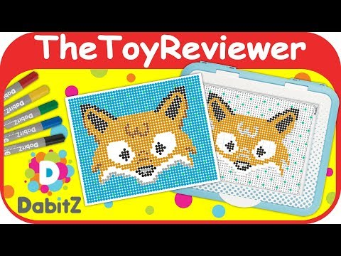 DabitZ Learner Portable Dab Desk Set Fibre-Craft Art Craft Unboxing Toy Review by TheToyReviewer