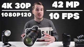sony A7R III - Обзор ( A7R II VS A7R III)