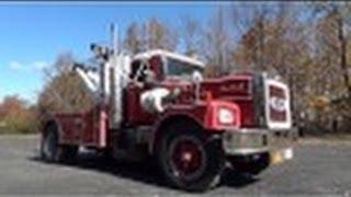 Detroit Diesel 6-71 Brockway Tow Truck