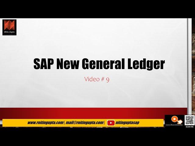 SAP New GL AC210 Session 11