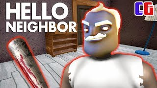 ПРИВЕТ СОСЕД СТАЛ ГРЕННИ?! Безумный Мод Granny в игре Hello Neighbor от Cool GAMES