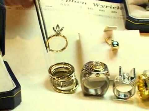 Colors of Metal Jewelry Yellow Gold, White Gold & Platinum Citadel Diamond Group Educational Videos