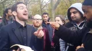 Homeless Preacher To The Muslims Message (Obey The Gospel Of Jesus Said In The Quran) 2015. (2)