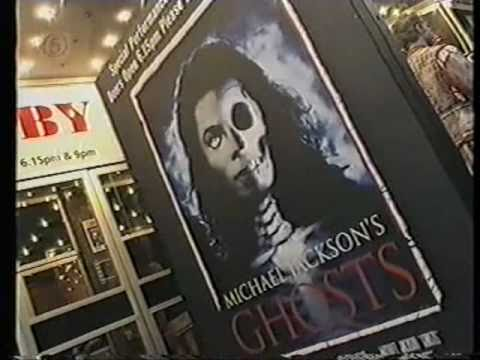 Michael Jackson News Feature Ghosts London Premiere Channel 5 UK 1997