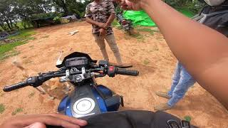 One minute ride to Siddu Farm House :D