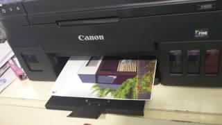 CANON PIXMA G4000 | ARCHITECTURE | PHOTOPRINT QUALITY TEST