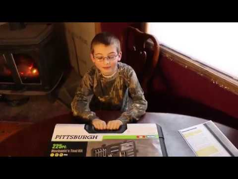 harbor-freight-tools:-pittsburgh-225-pc.-mechanic's-tool-set-unboxing/review