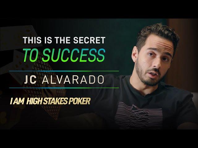 JC Alvarado Reveals the Secret to Success in Poker and Life