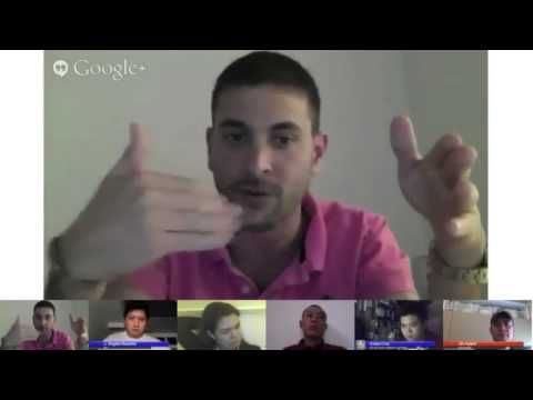 Hangout on Air with Greg Gopman of AngelHack