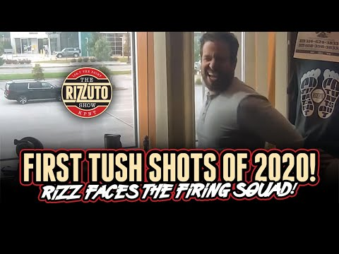 RIZZ takes his TUSH SHOTS for losing WEEK 1 of NFL Picks [Rizzuto Show]