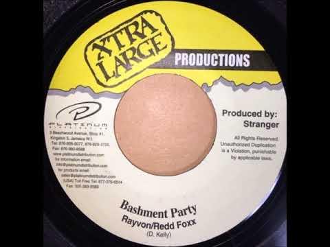 RAYVON REDD FOXX - BASHMENT PARTY - REGGAE - 7inch vinyl record