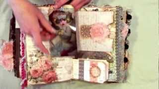 Altered Fairy Book/Mini Album - Fairy Dreamz Etc. (Mixed Media Girls) - SOLD