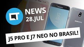 Galaxy J5 Pro e J7 Neo no Brasil; A ciência recomenda jogar durante o expediente [CT News]