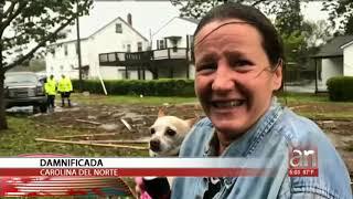 Inundaciones destrucción y 4 muertos ha dejado el Huracán Florence en su paso por las Carolinas