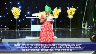 Repeat youtube video Question and Answer Session with Dr Paul & Dr (Mrs) Becky Enenche  (Part 1)