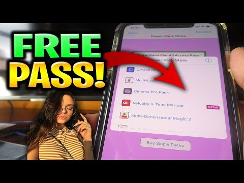 Video Star Free All Access Pass & Packs 🤑 VideoStar++ All Effects FREE!