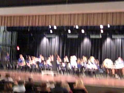 Fannin County Middle School 8th grade band