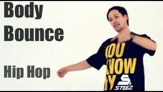 Обучение хип-хоп (hip hop dance tutorial). Body Bounce (самоучитель)(Смотреть больше уроков: http://drakoni.ru/bonus.html Автор музыки - Андрей Кит (МСК, ЮГ) http://vk.com/kitbeats Как научиться танце..., 2013-02-22T07:37:01.000Z)
