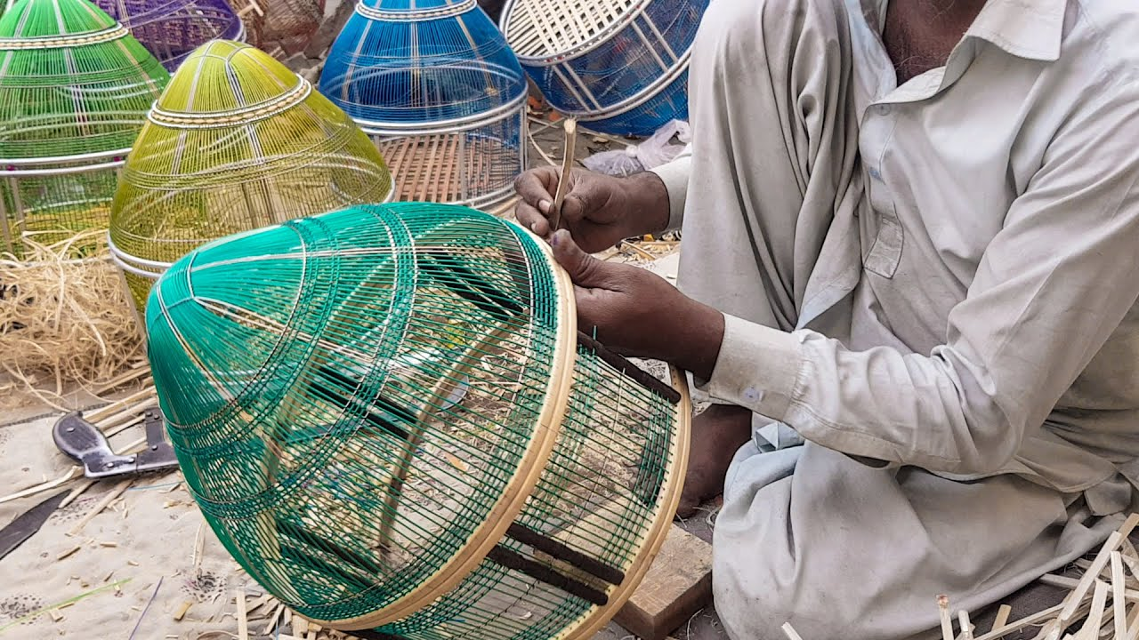What it Takes to Make a Birds Beautiful Bamboo Cage