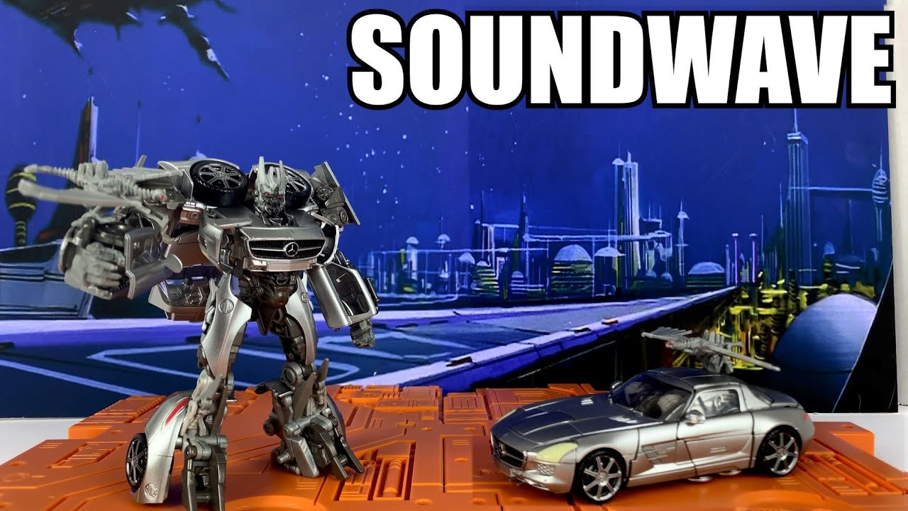Transformers Studio Series #51 DOTM Soundwave Unboxing and Review By Enewtabie