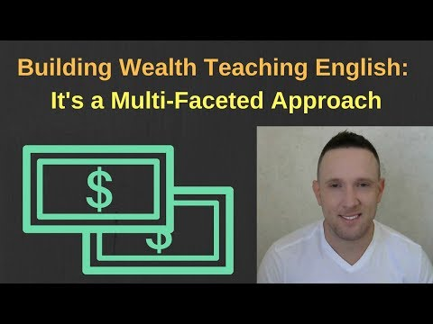 Teaching English Abroad: How to Build Wealth. Slow and Steady Wins the Race.