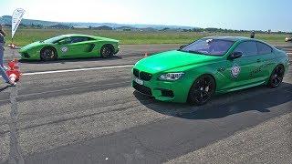 700HP+ BMW M6 F13 Street Performance vs Lamborghini Aventador LP700