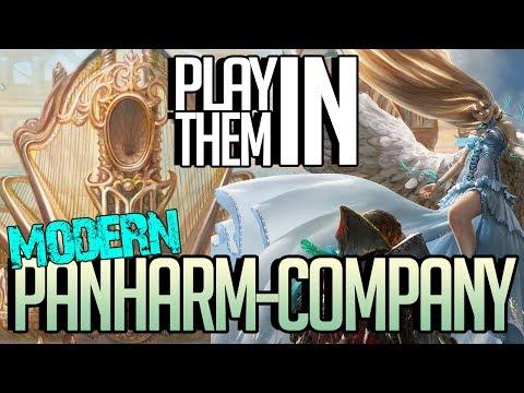 MTG MODERN Deck Tech - PLAY THEM IN! Panharm-Company