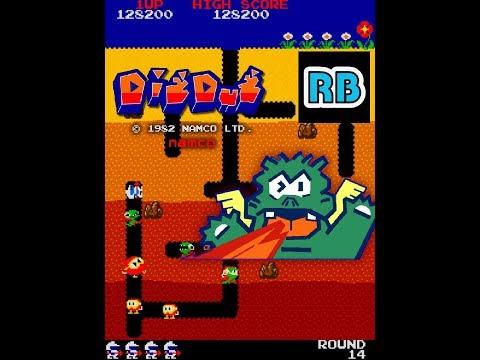 1982 [60fps] Dig Dug