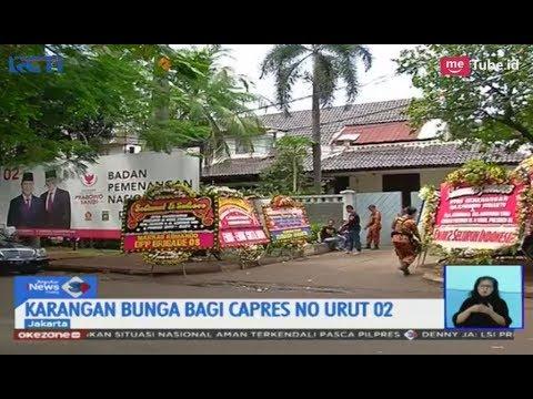 Tak Hanya KPU, Prabowo-Sandiaga Uno Terima Karangan Bunga Ucapan Selamat - SIS 22/04