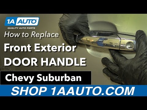How to Replace Front Exterior Door Handle 07-13 Chevy Suburban